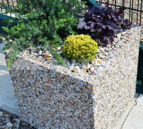 predaj-vymyvany-kvetinac-okrasna zahrada-betonovy kvetinac-kamienkovy kvetinac